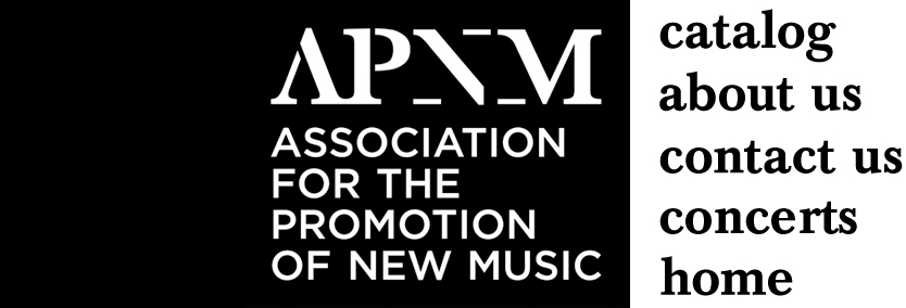 Association for the Promotion of New Music